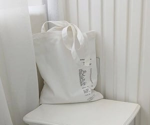 white, aesthetic, and bag image