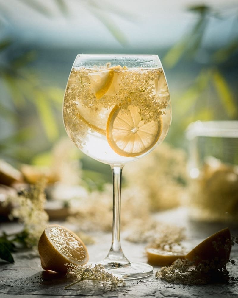 aesthetic, drink, and lemon image