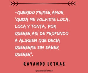 amor, frases, and frases tristes image