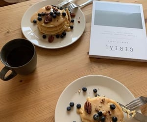 food, FRUiTS, and pancakes image