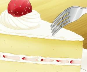 gif, japan, and anime food image