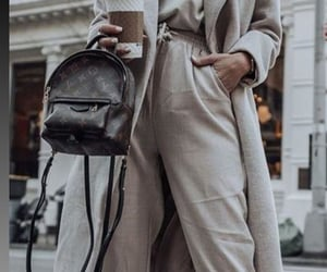 bag, athleisure, and coat image