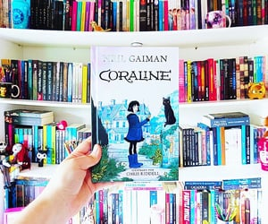 book, coraline, and livros image