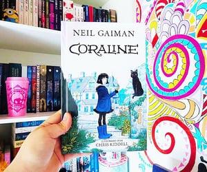 book, love books, and coraline jones image