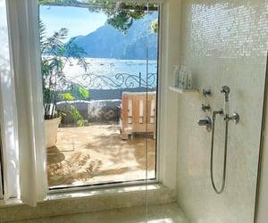 bathroom, beach, and decor image