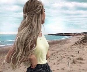 beach, vibe, and fashion image