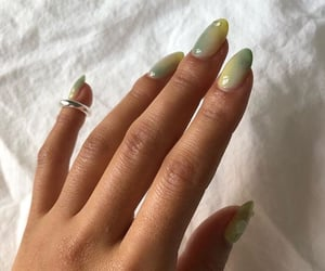 nails, green, and accessories image