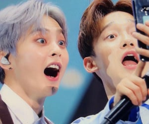 Chen, kim minseok, and exo image