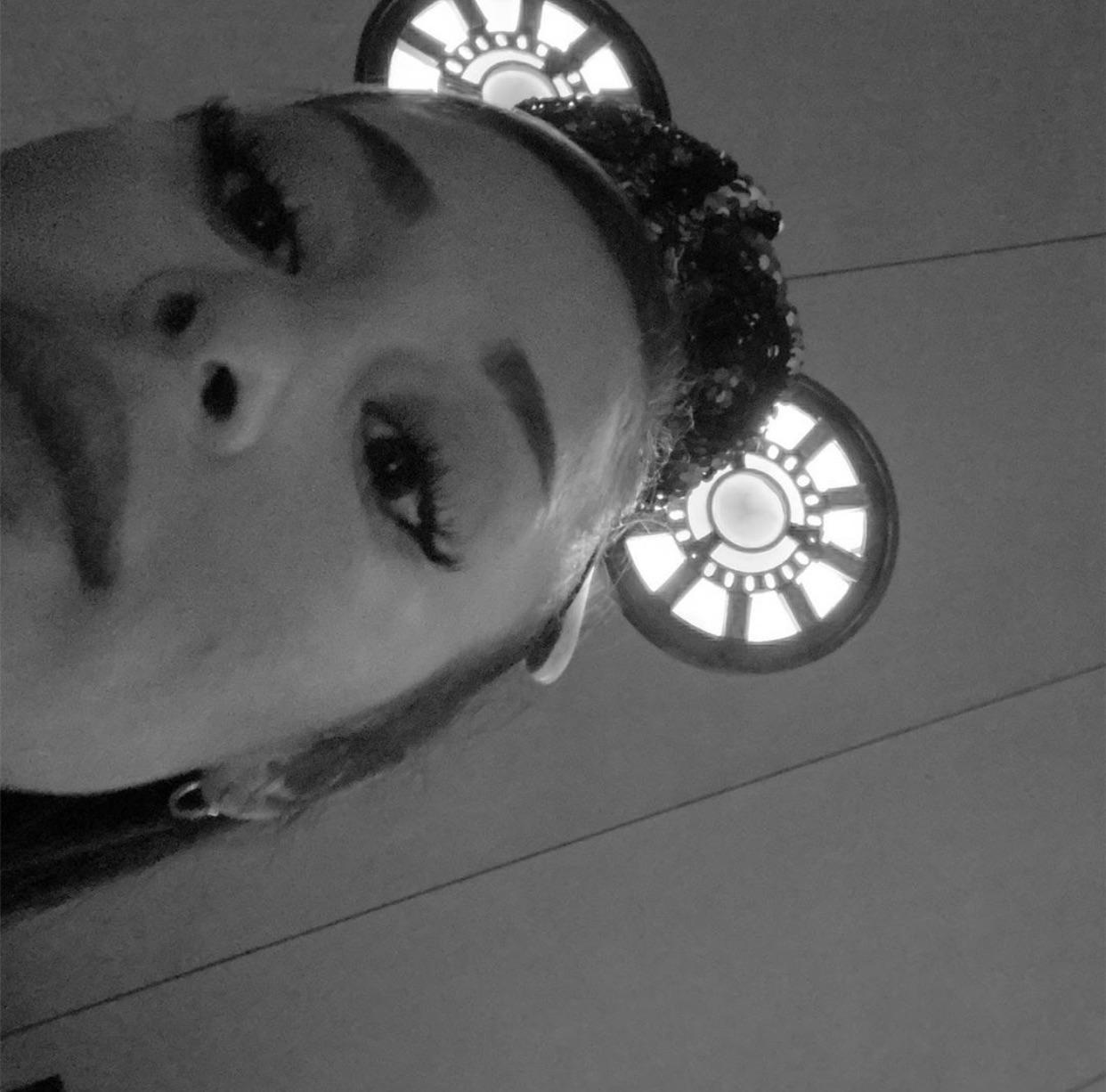 ariana grande, ari, and black and white image