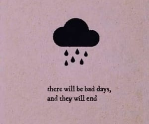 quotes, rain, and pink image