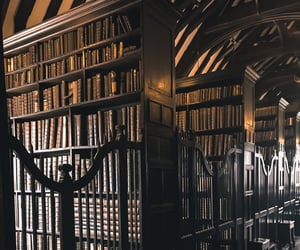 manchester, dark academia, and chetham library image
