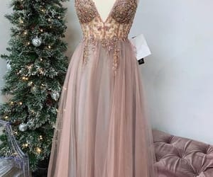 evening dress, beading prom dress, and party dresses image