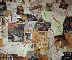board, detective, and mystery image