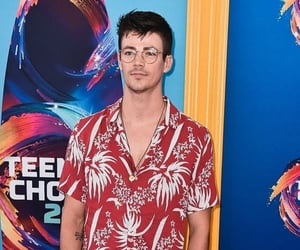 glee, grant gustin, and the flash image