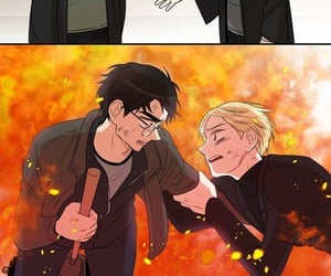 draco malfoy, gryffindor, and hp image