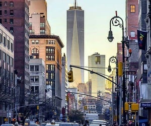 america, new york city, and usa image