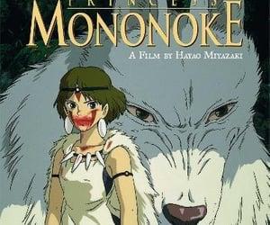 anime, ghibli, and princess mononoke image