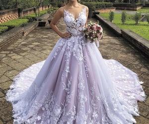 boho luxury wedding dresses 2020 lace applique floral elegant purple ball gown wedding gowns vestido de novia