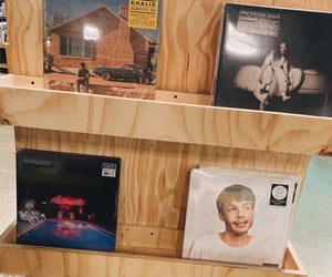 aesthetic, vinyl, and music image