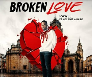 broken love, music, and musicvideo image