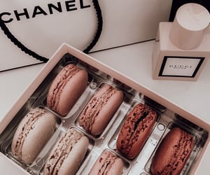 food, chanel, and gucci image