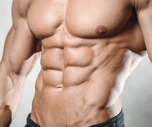 abs, daily, and fitness image