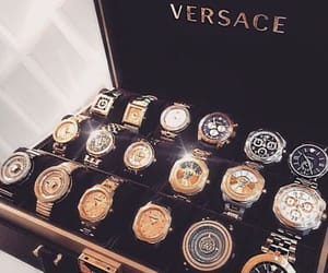 luxury, Versace, and gold image
