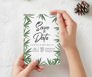etsy, diy save the date, and simple save the date image