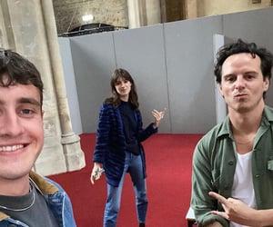 normal people, paul mescal, and daisy edgar jones image