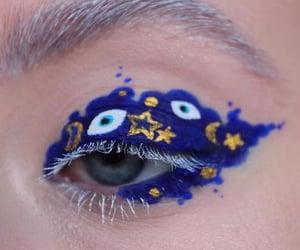 eye, fashion, and makeup image