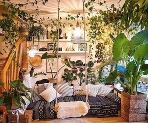 boho, decor, and hippie image
