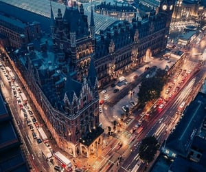 britain, cityscape, and palace image