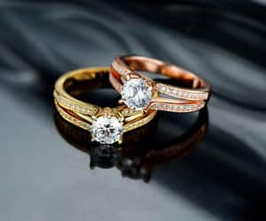 etsy, solitaire ring, and promisering image