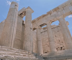 acropolis, aesthetic, and architecture image