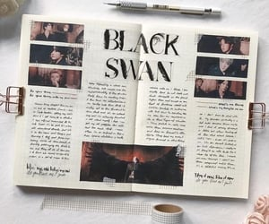 aesthetic, black swan, and inspo image
