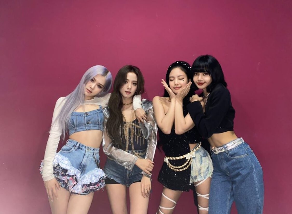 lisa, kim jennie, and rose image