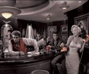 atlas, bar, and Elvis Presley image