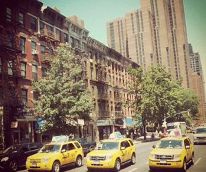 ny, taxi, and trip image