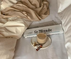 aesthetic, drinks, and bed image