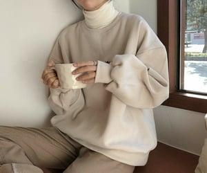 beige, milk tea, and pinterest image