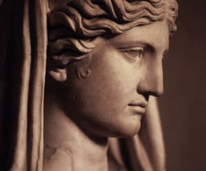 goddesses, marble, and sculpture image