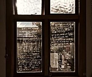 aesthetic, math, and window image
