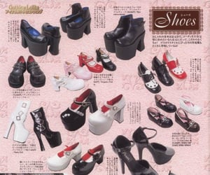 catalog, gothic, and shoes image
