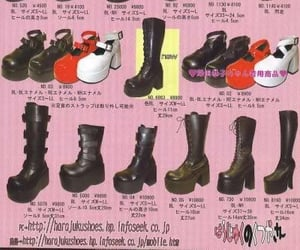 gothic, lolita, and shoes image