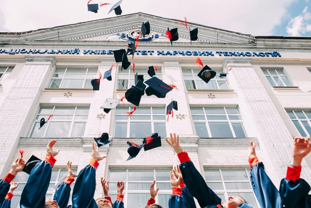 college, goals, and graduation image