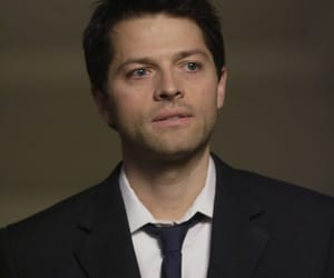 mishacollins, sexy, and supernatural image
