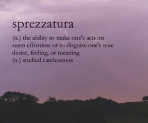 effort, says, and sprezzatura image