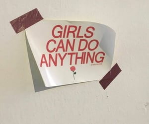 girl, aesthetic, and feminism image