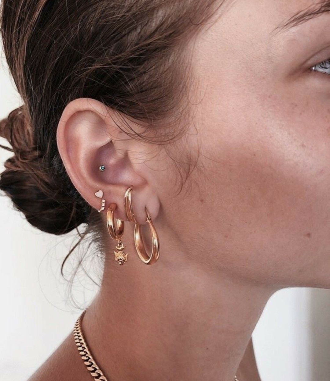 accesories, ear, and girls image