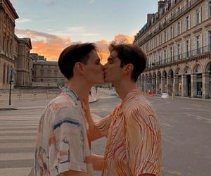 aesthetics, beautiful, and kiss image